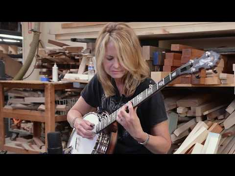 Alison Brown Banjo Masterclass - Left Hand Position For Chord Melodies