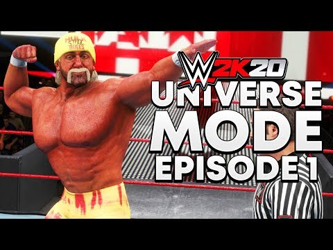 WWE 2K20 | Universe Mode - 'WHAT DID WE JUST SEE?!' | #01