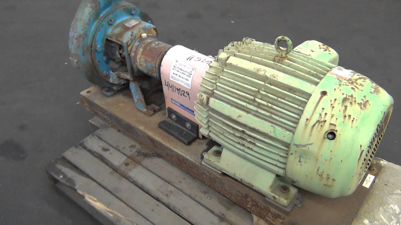 Used- Worthington Centrifugal Pump, Size 6X4X13, Model D 1011 - stock #  44119029
