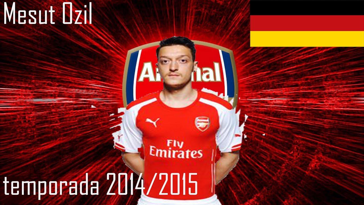 Mesut Ozil Arsenal 2014 2015