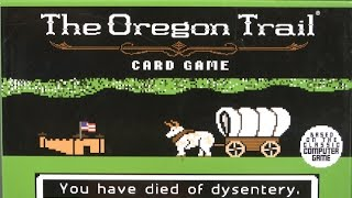 The Oregon Trail Card Game from Pressman Toy