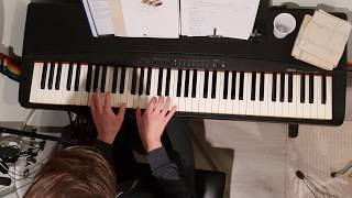 Toto - If it's the last night(Piano Cover)