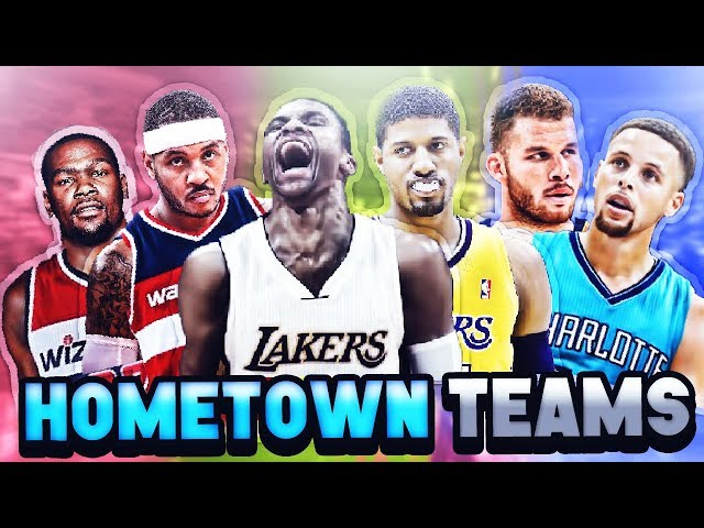 7 BEST NBA TEAMS IF EVERY PLAYER PLAYED FOR THEIR HOMETOWN
