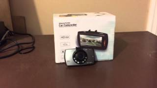 Product review: HDMI Car dvr 2.7