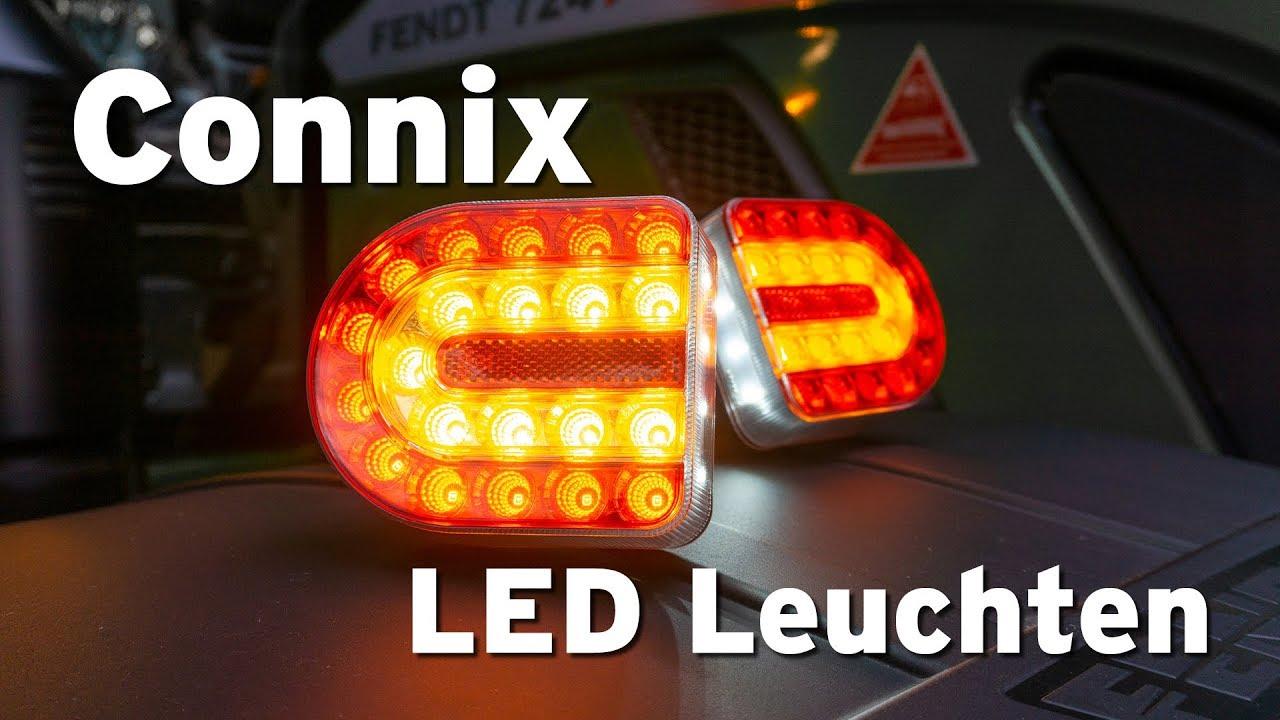 connix led leuchtensatz kabellos magnetisch youtube