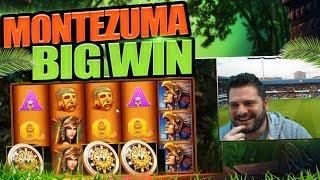 MONTEZUMA MEGA BIG WIN! 10X RETRIGGERS GALORE!!