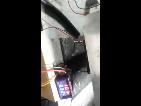 ini bukan kulkas lagi tapi ini freezer peltier , thermoelectric