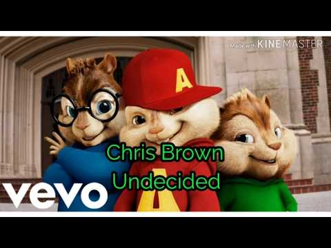 Chris Brown - Undecided chipmunk