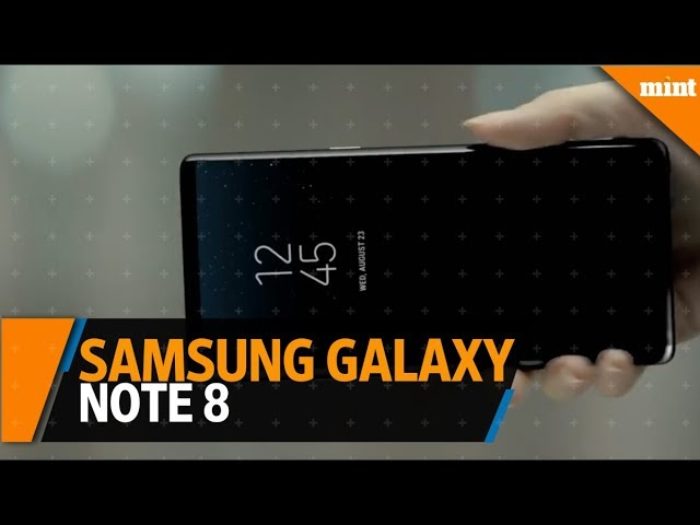 Samsung unveils Galaxy Note 8