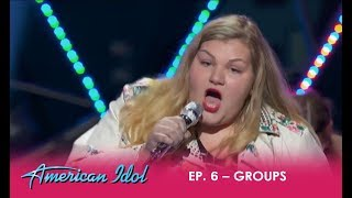 Maddie Zahm FORGETS Her Lyrics But Makes An EPIC COMEBACK!  | American Idol 2018
