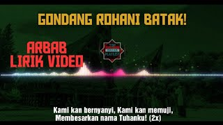 Gambar cover GONDANG BATAK ROHANI - ARBAB | LYRIC VIDEO |