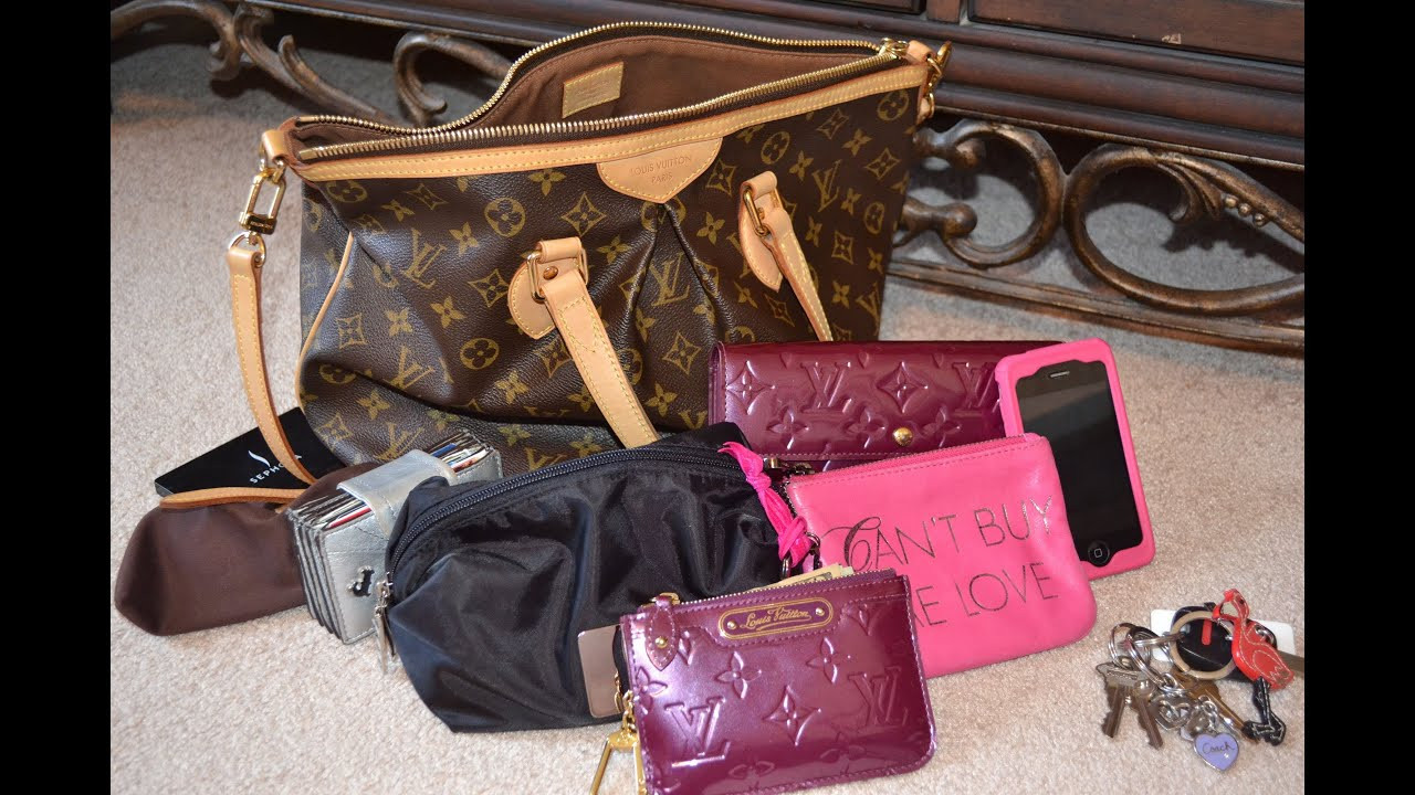 Louis Vuitton Tivoli Vs Palermo What S Inside Of My Louis Vuitton Palermo Pm Handbag