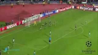 ملخص كامل مباراة ريال مدريد 2-1 لودوغاريتس رزغراد دوري ابطال اوربا 2014-2015 HD