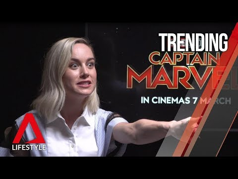 Captain Marvel interviews: Star Brie Larson and directors spill all in Singapore | CNA Lifestyle