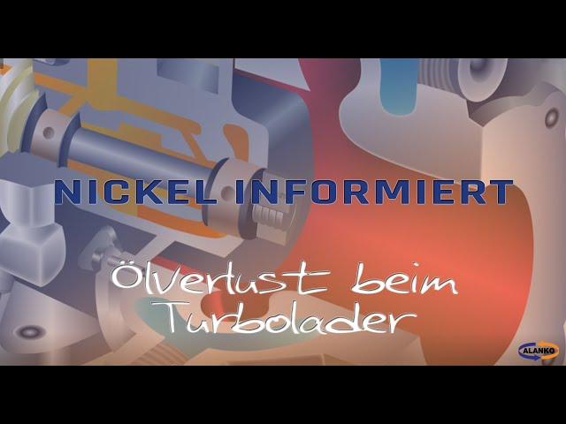 Nickel: Ölverlust Turbolader