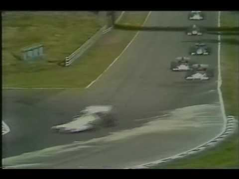 1972 British Grand Prix Early Laps Jacky Ickx and Emerson Fittipaldi