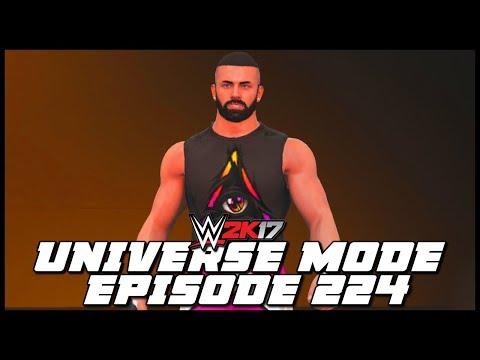 WWE 2K17   Universe Mode - 'MOAJ T-SHIRT CAW SHOWDOWN!' (PART 5)   #224