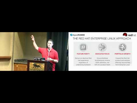 OpenPOWER Summit US 2018: Operating System & Application Development for the ppc64le Architecture