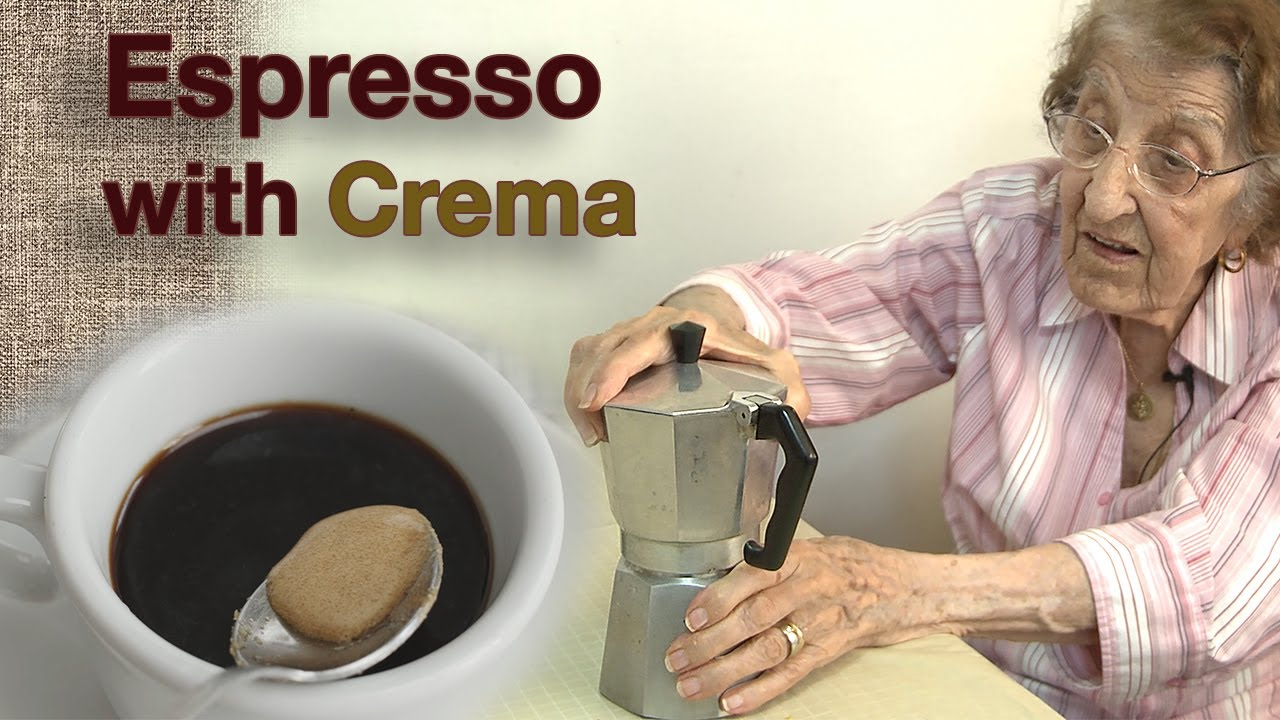 Great Depression Cooking - Making Espresso with Sweet Crema