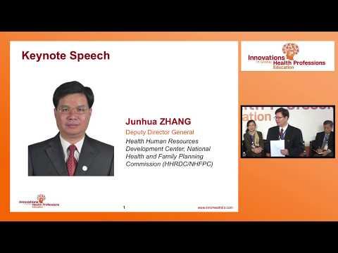 Health care priorities in China | Dr. Junhua Zhang: IGHPE Shanghai 2017
