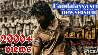 Dandalayya song rocking star yash vesion