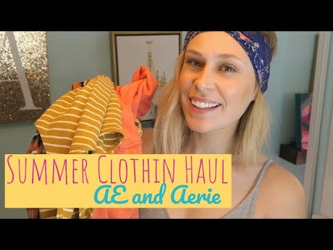 Summer Clothing HAUL // American Eagle And Aerie SALE