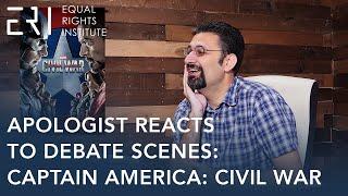 Apologist Reacts to Debate Scenes: Captain America: Civil War