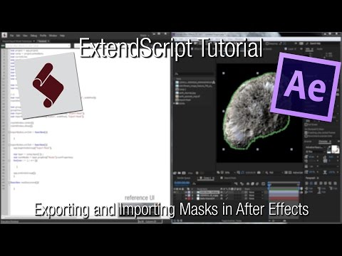 After Effects Scripting Tutorial: Exporting and Importing Masks