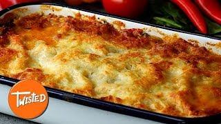 Tuscan Sausage Lasagna Recipe  Homemade Lasagna Recipes  Twisted