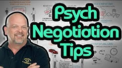 8 Best Psychological Negotiation Tactics and Strategies - How to Haggle