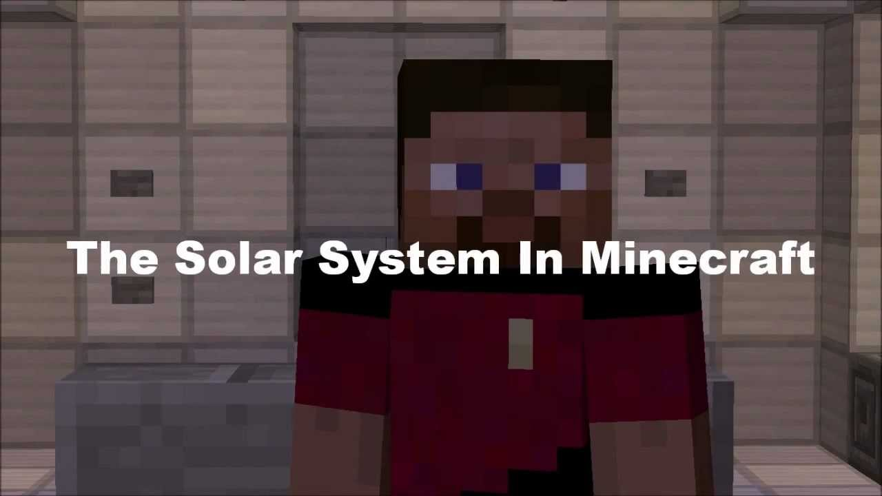 The Solar System in Minecraft  YouTube