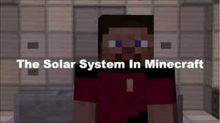 The Solar System in Minecraft
