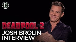 Josh Brolin on Deadpool 2, X-Force and Cable's Origin