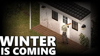 Project Zomboid WINTER IS COMING #1 | Weather Update Build 40 IWBUMS Challenge