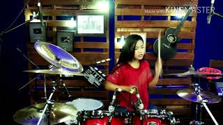 DJ Aisyah jatuh cinta pada jamillah Drum Cover Ghoits channel