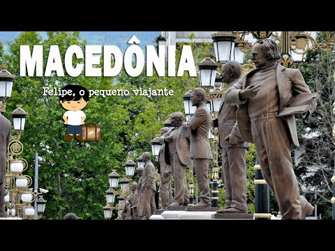 Macedônia   Македонија   Felipe, o pequeno viajante