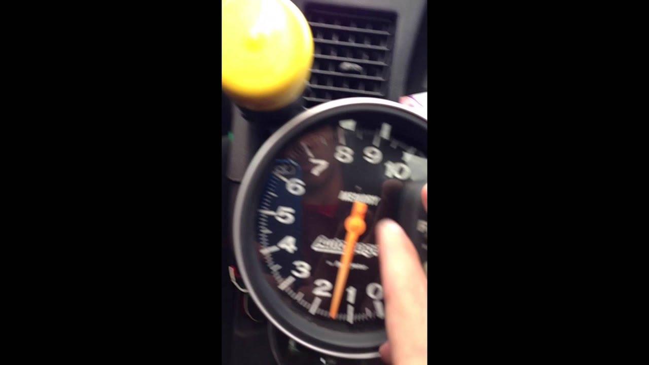 autogauge memory tachometer how to  [ 1280 x 720 Pixel ]