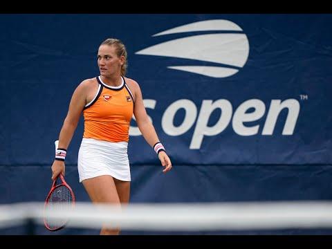 Timea Babos vs. Carla Suárez Navarro | US Open 2019 R1 Highlights