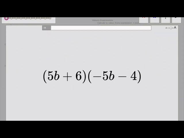 Double distributivité - calcul littéral - Maths 4ème https://mathovore.fr