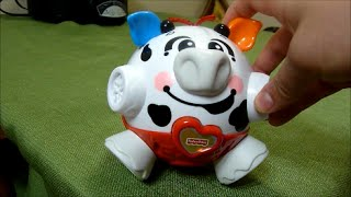 Review Fisher Price Bounce And Giggle Cow Ble Toy