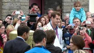 Andy Murray, Dunblane Homecoming