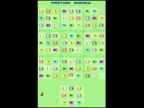 Pasture Sudoku - Free Game For Android Tablets