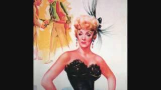 "Marlene Dietrich ""Gypsy Davey"" (Rancho Notorious, 1952)."