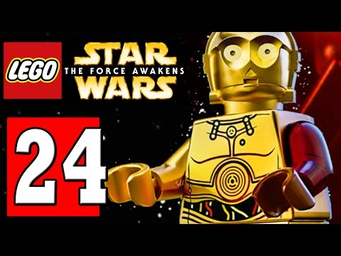 LEGO Star Wars The Force Awakens Part 24  SECRET LEVEL: POE TO THE RESCUE / UNLOCK ADMIRAL ACKBAR
