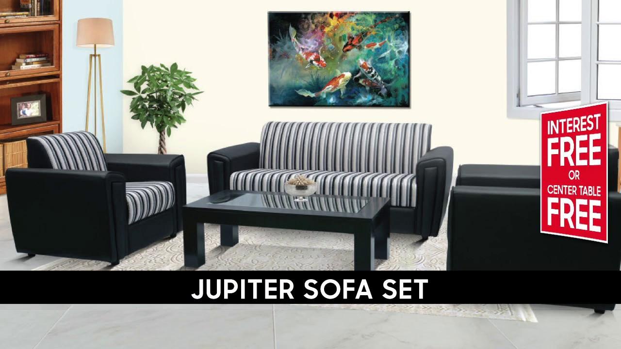 Singer Homes Jupiter Sofa Set Offer - YouTube