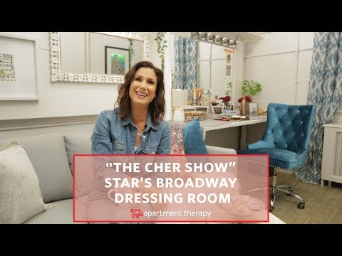 """""""The Cher Show"""" Broadway Dressing Room Makeover 
