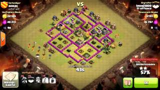clash of clans clan51 offence cw ag 100% 3 sterne drachen lvl1