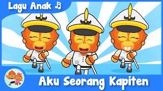 Aku Seorang Kapiten Lagu Anak Balita Indonesia | Coco dan Nana