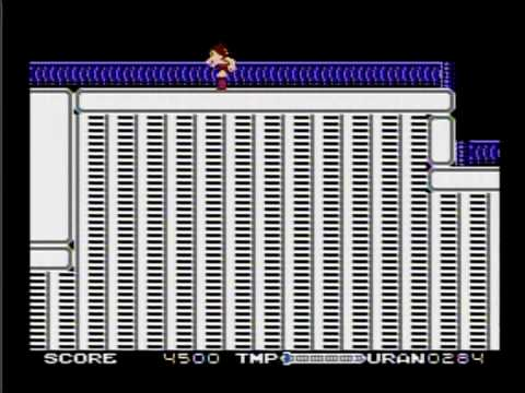 Astro Boy (Tetsuwan Atom) on famicom, gameplay