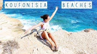 KOUFONISIA beaches: Fanos, Finikas, Pori Bay, Xilobatis Bay